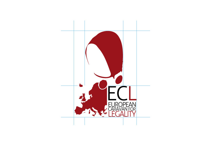 Logo European Caravan for Legality